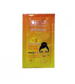 Máscara Facial Vitamina C Filtro Solar Sachê Matto Verde