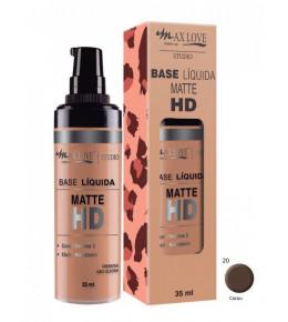 Base Líquida Matte HD 20 Max Love