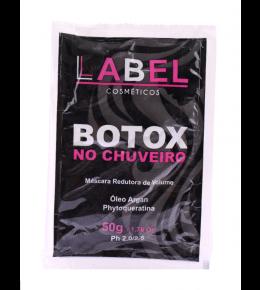 Botox No Chuveiro Label