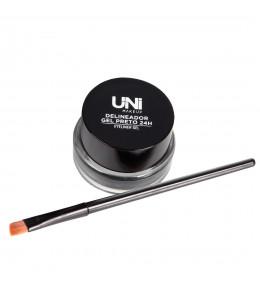 Delineador Gel Preto 24h Uni Makeup