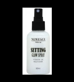 Fixador de Maquiagem Setting Glow Prata NewFace