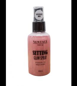 Fixador de Maquiagem Setting Glow Rosê NewFace