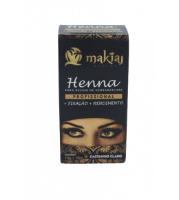 Henna Makiaj Castanho Claro