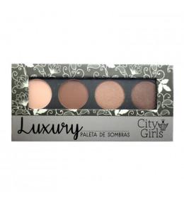Paleta 4 Cores Luxury City Girls B