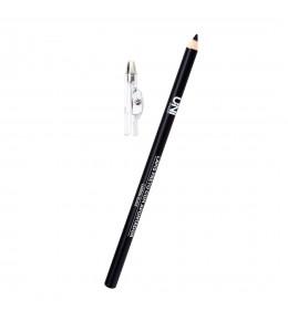 Lápis Preto Com Apontador Uni Makeup